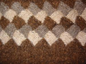 knitting patterns entrelac stitch