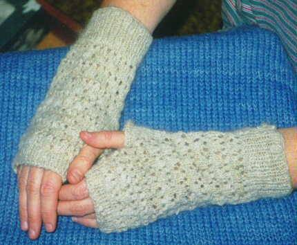 Knitting Pattern Central - Free Arm Warmers Knitting