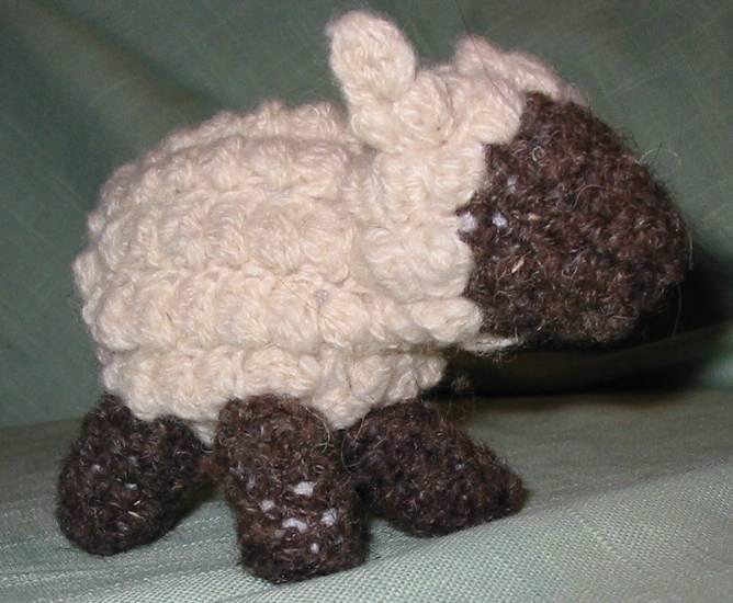 10do Crocheted Sheep Llama Pattern Spincraft Knitting Patterns