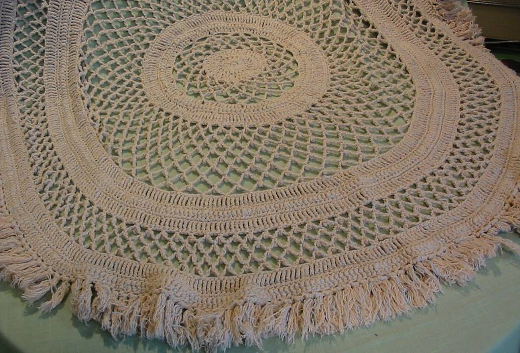 Crocheted Rugs Patterns Crochet And Knitting Patterns