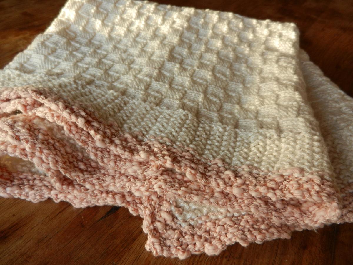 45bb Basketweave Baby Blanket Spincraft Knitting Patterns